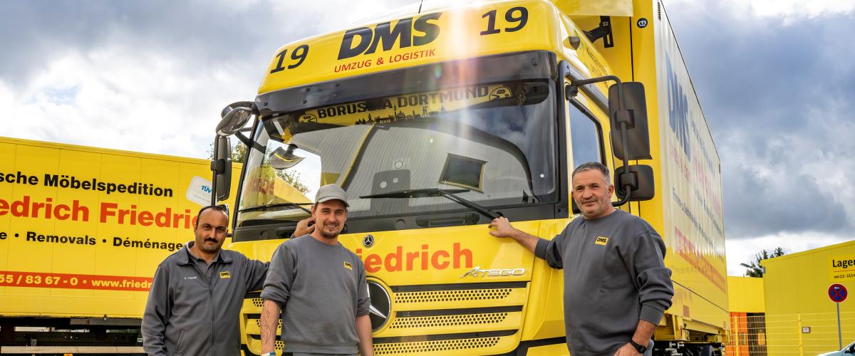 Komm in unser Fahrerteam nach Griesheim