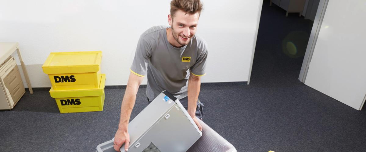 Wir suchen studentische Aushilfen für IT-Umzüge im Raum Darmstadt, Frankfurt, Mainz